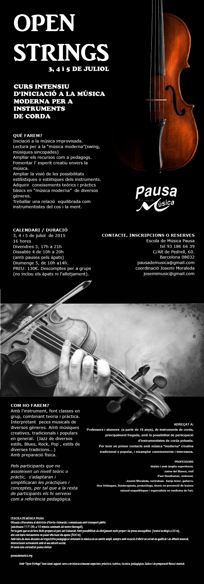 open Strings 2015